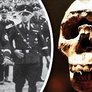 Himmler se svými nohsledy historii Brna nesmírně obdivovali.
