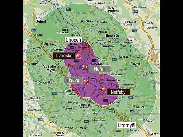 Bezpečnostní pásma: Užší zóna (poloměr 3 km) - zákaz chovu drůbeže venku a zákaz přesunů drůbeže včetně vajec a masa. Širší zóna (poloměr 10 km) - kdyby se nákaza dostala do chovu, byla by všechna zvířata utracena a zlikvidována v nejbližší kafilérii.