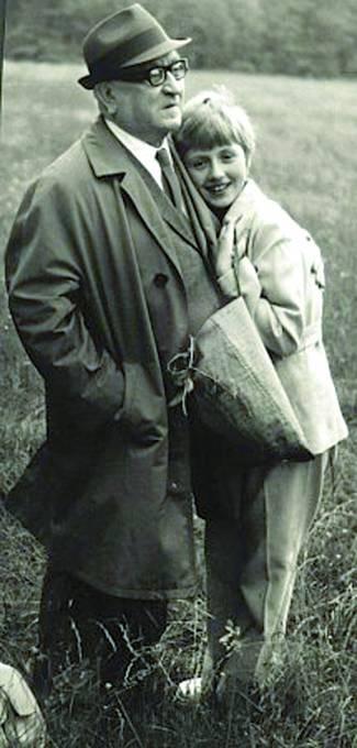 Marvan s dcerou Alenou.