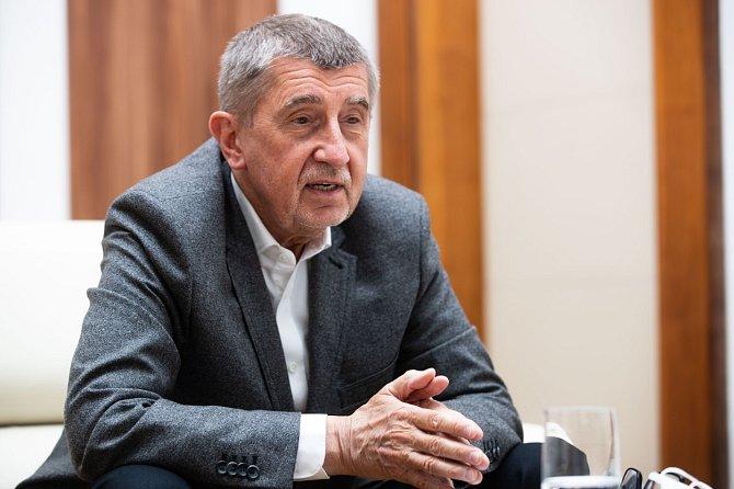 Andrej Babiš se v předvolební kampani snaží získat hlasy voličů.