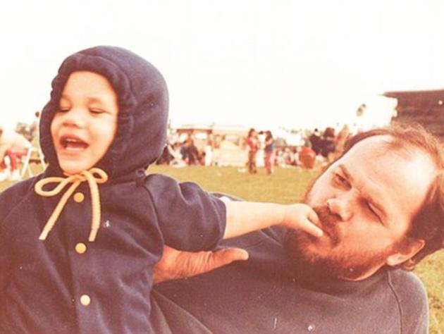 Meghan Markleová se svým otcem Thomasem Marklem