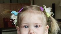 Ella Haberová jako malá holčička.