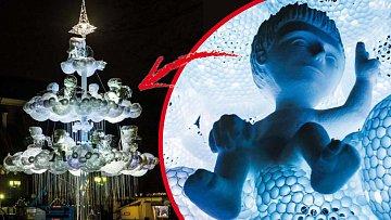 V litevském Kaunasu mají vánoční stromek vždy originální. Nejinak je tomu i letos.