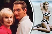 SPaulem Newmanem prožila většinu života.