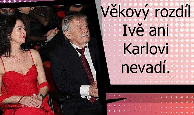 Láska jako zrománu mezi Karlem Šípem a jeho manželkou.