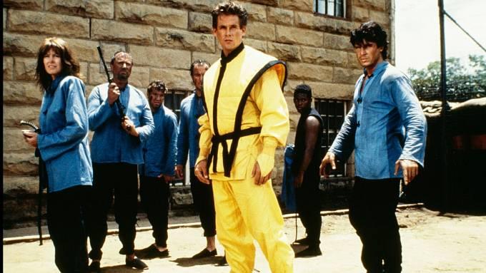 Americký ninja. Série, která z Michaela udělala hvězdu první velikosti.