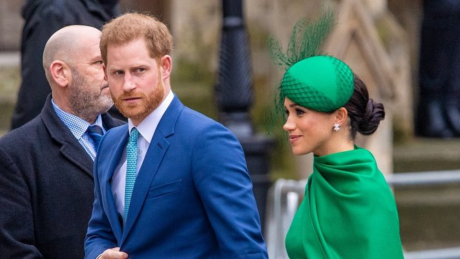 Meghan a Harry