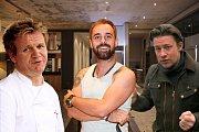 Jsou lepší avokádové tousty Gordona Ramsayho nebo je trumfnou ty od Jamie Olivera? O vítězi rozhodl rockový zpěvák Petr Kutheil.