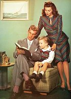 Toma Lanea si brala v17 letech. Nasnímku se synem Kentem.