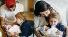 Michael a Nicole Phelps se synem Beckettem