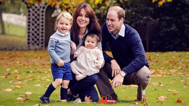 Šťastná královská rodina
