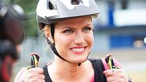 Bývalá biatlonistka reagovala na vtípek Jaromíra Jágra velmi akčně.