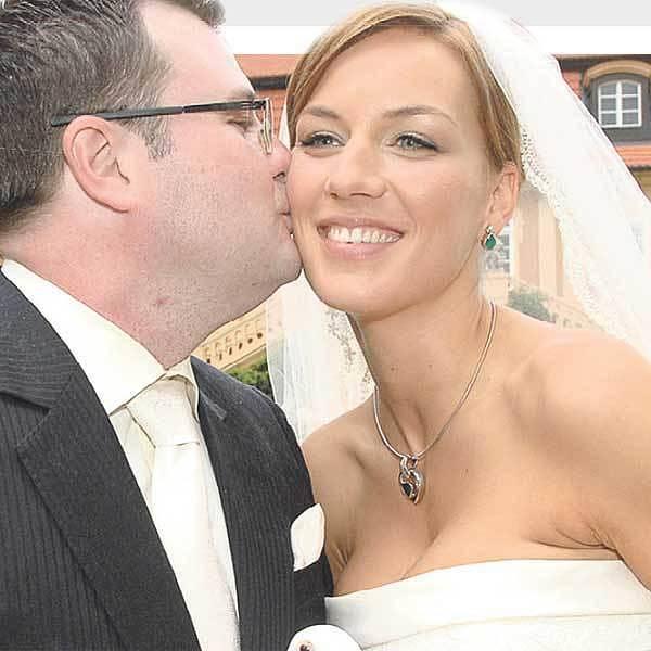 Miss ČR Lucie Králová se vdala za podnikatele Zdeňka Kaufmanna.