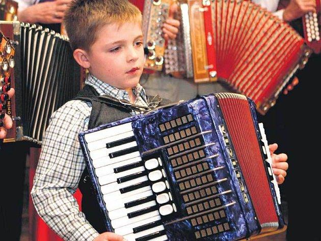 Osmiletý Radek Tomek byl nejmladším účastníkem setkání.