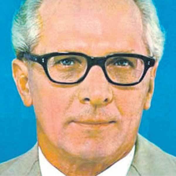 Německý komunistický vůdce Erich Honecker
