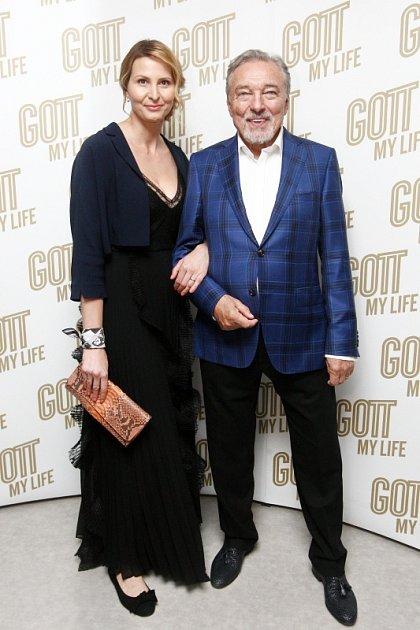 Ivana Gottová a Karel Gott