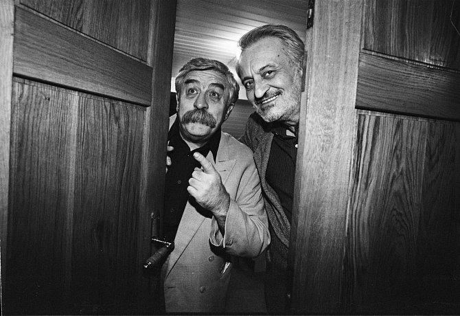 Milan Lasica a Július Satinský vytvořili nezapomenutelnou uměleckou dvojici.