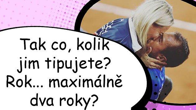 Tenista Lukáš Rosol se potřetí oženil. Michaela Ochotská už se kvůli němu netrápí.