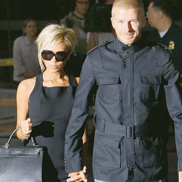 Victoria Beckham přijela zLos Angeles za Davidem. Plně ho podporuje vjeho snaze zůstat vMiláně.