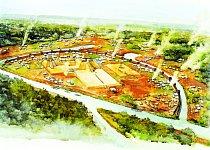 Cahokia měla až 40 tisíc obyvatel, ato ještě dávno před příjezdem Kryštofa Kolumba doAmeriky.