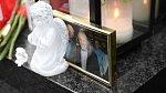 Pohřební symbolika ho velmi dojímala již od útlého věku.