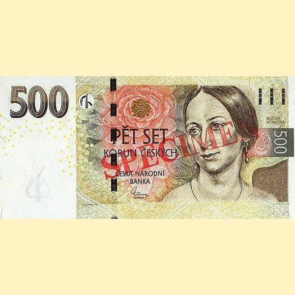 500korunová bankovka