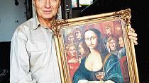 Karel Gott byl úspěšný i v oblasti umění, jeho obrazy mají dnes milionovou cenu.