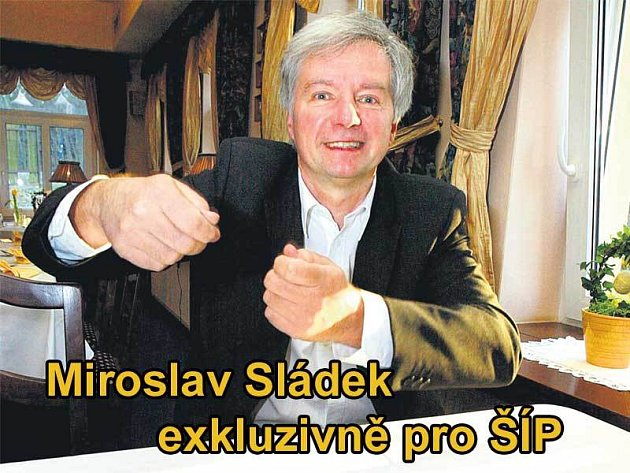 Republikán Miroslav Sládek