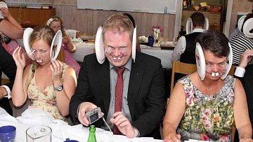 Šílené svatební snímky...