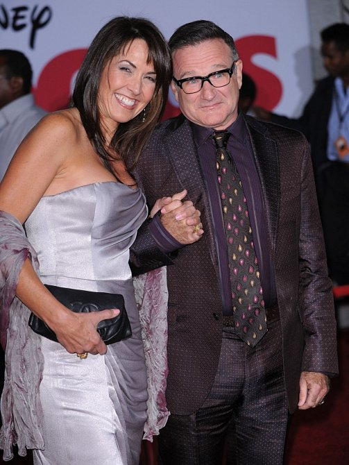 Designérka Susan Schneider se stala jeho třetí ženou.