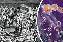 Původ nemoci azpůsob jejího přenosu zčlověka načlověka je dosud záhadou.