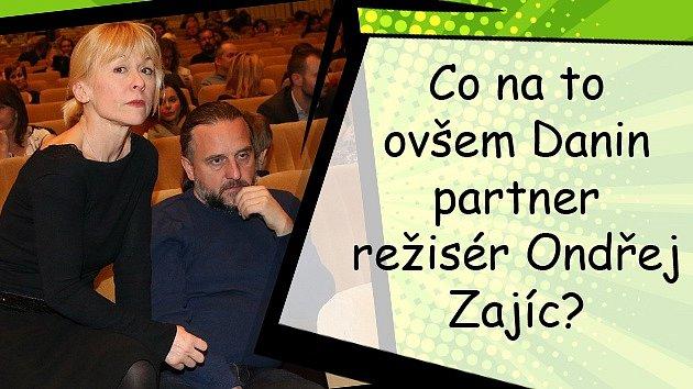 Herečka Dana Batulková sJanem Onderem tvořili taneční pár vpořadu StarDance.