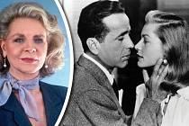 Osudovou láskou Lauren Bacall se stal Humphrey Bogart.