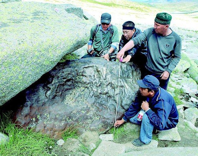 Objevili gigantický meteorit