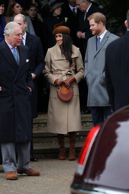 Princ Charles vdružném hovoru sMeghan Markle a synem Harrym.