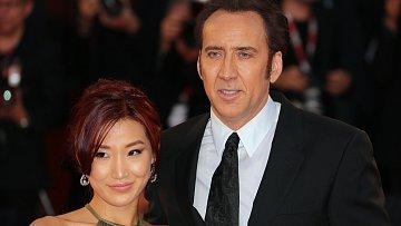 Nicolas Cage s manželkou