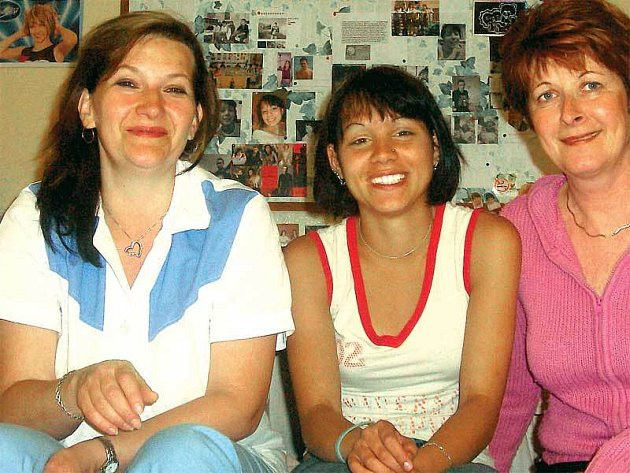 Na tety Martu a Milenu nedá Evička dopustit. Vděčí jim za dobrou výchovu a spoustu lásky.