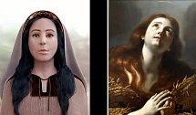 Partnerka Ježíše Krista Maria Magdalena a její reálná podoba.