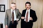 Ve své největší slávě se bavil s předními českými politiky.