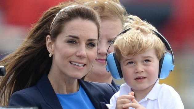 Kate Middleton a princ George