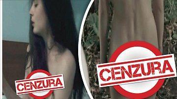 Už několikrát herečka předvedla hříšné tělo před kamerou.