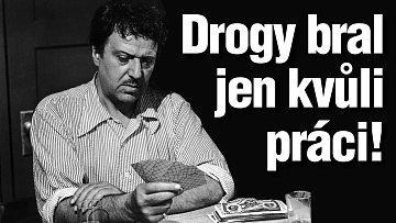 Slavný režisér se náklonností k drogám netajil.