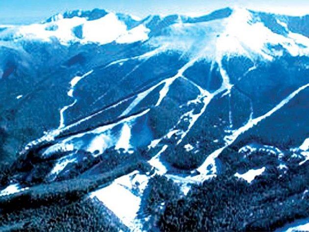 Nízké Tatry z výšky a v plné kráse