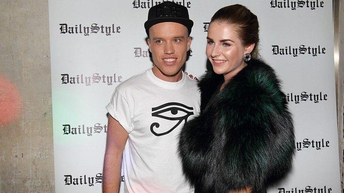 Kateřina Zemanová navštívila premiéru videoklipu Davida Biska k písni Goodbye.
