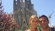Roman Vojtek a Petra Vraspírová si užili romantickou dovolenou v Barceloně.