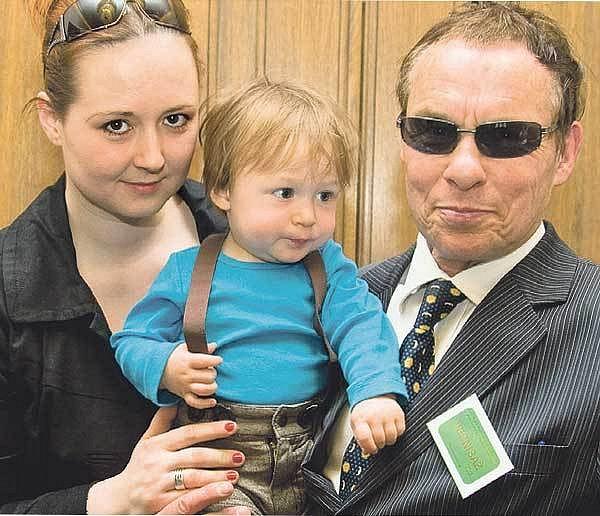 SPavlou Hodkovou má Jan Saudek syna Matěje.