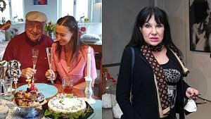 Dagmar Patrasová, Felix Slováček, Lucie Gelemová