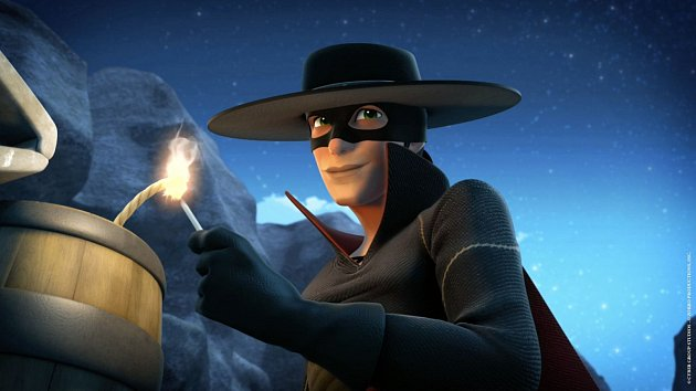 Hrdina s maskou zřejmě vychází z činů živého člověka.