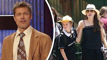 Brad Pitt to s Angelinou nemá zrovna snadné. Ale možná se blýská na lepší časy.