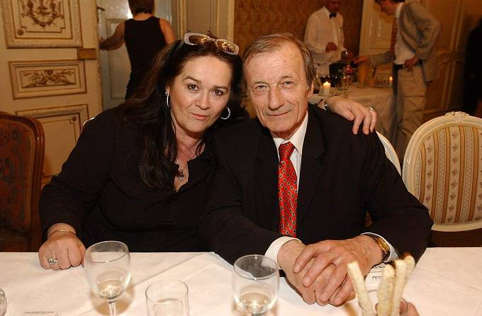 S manželkou Hanou Gregorovu.